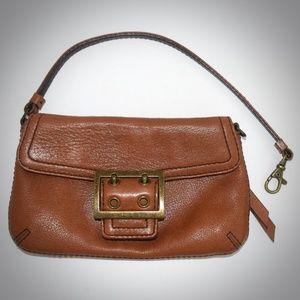 Banana Republic Brown Wristlet Handbag Convertible